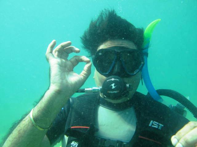 SCUBA in Goa  Explore a different world, Under Water.
