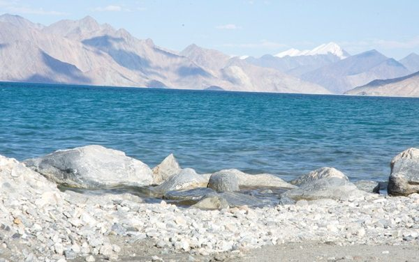 Ethereal Pangong Lake in Ladhak