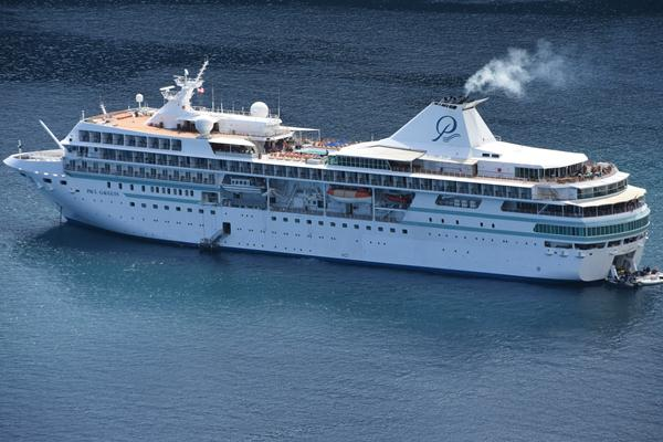 Cruise through French Polynesian Islands, with Paul Gauguin. Huahine to begin with.