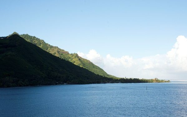 In Paul Gauguin Cruise, 'Huahine' to Taha'a in the French Polynesia